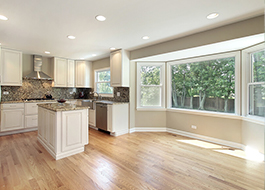 remodeled kitchen without furniture before additional services