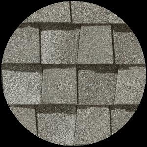 gray shingle material for custom roof design